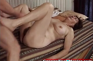 Hairy slit fucked by pro