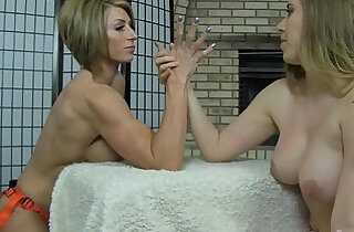 Strapon Domination by Muscle Goddess Rapture