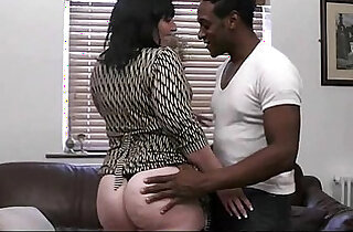 Fatty takes huge ass black thing