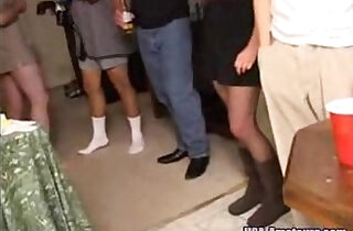 party - Amateur American Cuckold Wife Gets Gangbanged At Private Party By Husbands Friends