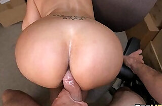 Big booty latina Vanessa Luna Hardcore Sex In The Back Room.