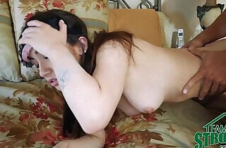 Teen Fucked By Her Step Brother And Boyfriend Blindfolded