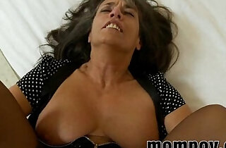 mature milf fucked in her pantyhose