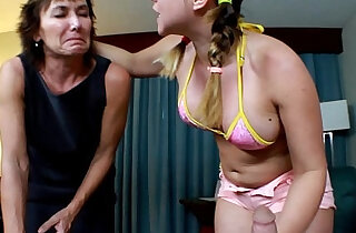 Mature Wife Humiliated by Younger Home Wrecker Lillian Tesh