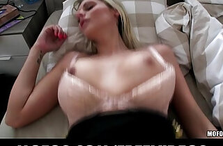 Gorgeous amateur blonde girl is picked up and paid for public sex