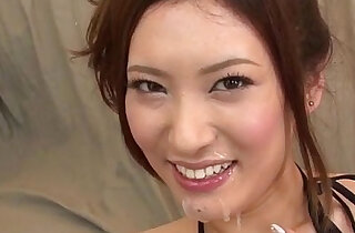 Yui Kasuga fucked very hard with toys and jizzed on face