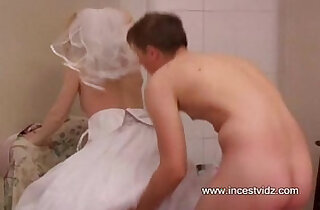 Brother decided to fuck his sister last time before marriage