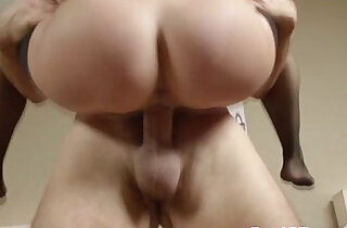 Bigtit housewife gets a creamy mouthful