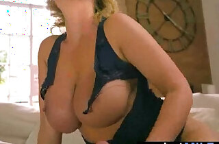 Hot Housewife leigh darby Ride Big Long and Hard black monster Dick On Tape video 18
