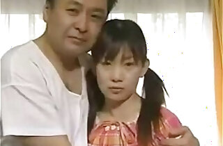 Japanese Father fuck his own daughter Sexy Schoolgirl gets fucked in home