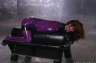 Beautiful bdsm lesbians in latex