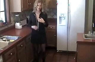 Sexy Housewife cunt fucked by stepson